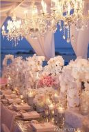 Opulent table decor {via Designhousedecor.com}