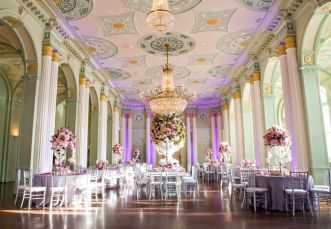 Reception at the Biltmore Ballroom, Atlanta {via theknot.com}