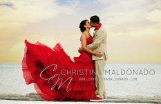 Red wedding dress - www.etsy.com/shop/WeddingDressFantasy