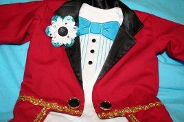 Ringbearer's ringmaster costume jacket - www.etsy.com/shop/CupcakesCottage