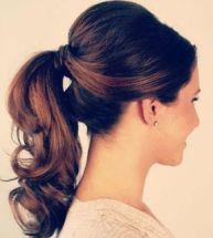 Stylish ponytail {via etcweddings.com}