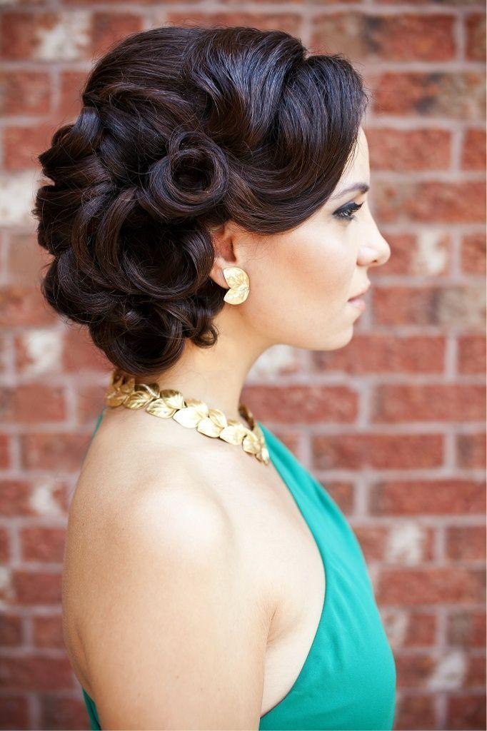 Vintage hairstyle {via stylecraze.com}