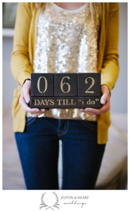 Wedding countdown blocks - www.etsy.com/shop/kearydee