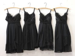 Black bridesmaid dresses - www.etsy.com/shop/ArmoursansAnguish