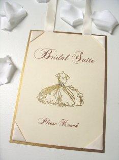 Bridal suite sign - www.etsy.com/shop/ScenicWoodsPaperie
