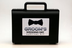 Groom survival kit - www.etsy.com/shop/MissionUnboxable