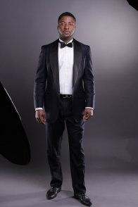 Men's midnight-blue tuxedo - www.etsy.com/shop/DanielandLade