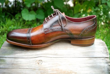 Men's Oxford dress shoes - www.etsy.com/shop/OSCARWILLIAMSHOE