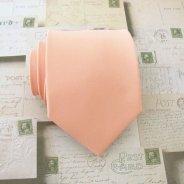 Men's peach necktie - www.etsy.com/shop/TieObsessed