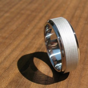 Men's titanium ring - www.etsy.com/shop/spexton