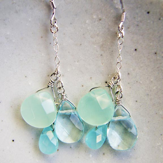 Mint And Light Blue Wedding