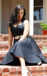 Rockabilly black bridesmaid dress - www.etsy.com/shop/VintageMeUpBoutique
