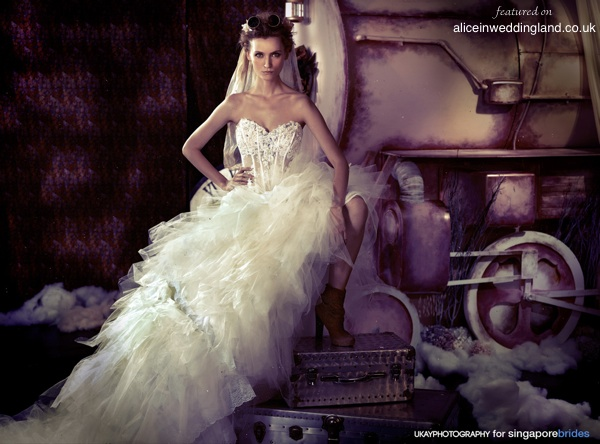 Steampunk Bride Inspiration Via Aliceinweddingland Co Uk