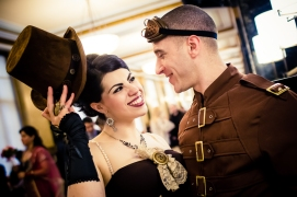 Steampunk wedding inspiration {via jared-jenny.com}