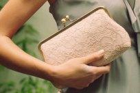Blush clutch purse - www.etsy.com/shop/DavieandChiyo