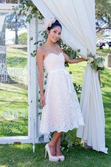 Lace reception dress - www.etsy.com/shop/TheLittleWhiteDress