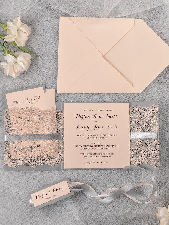 Diy Wedding Pocket Invitations was nice invitations sample