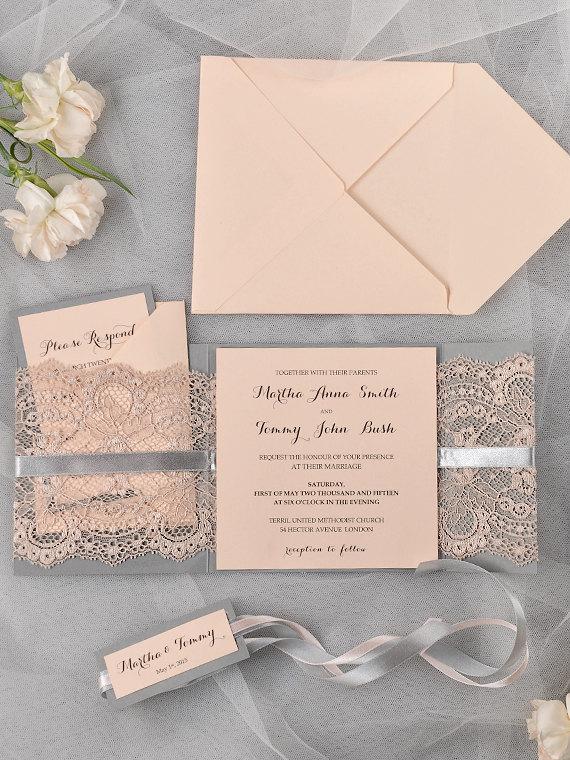 Pocket Wedding Invitation is amazing invitations ideas