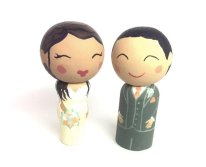 Personalised cake toppers - www.etsy.com/shop/Quinnipeg