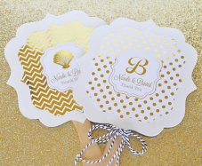 Personalised hand fans - www.etsy.com/shop/EventDazzle
