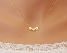 Personalised necklace - www.etsy.com/shop/untie