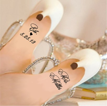Personalised shoe decals - www.etsy.com/shop/GiftedThimble