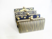 Bridesmaid clutch purses - www.etsy.com/shop/VincentVdesigns