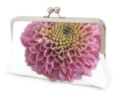Dahlia clutch purse - www.etsy.com/shop/redrubyrose