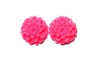 Dahlia earrings (available in multiple colours) - www.etsy.com/shop/Rubenabird