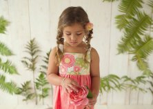 Dahlia flower girl dress - www.etsy.com/shop/bittybambu