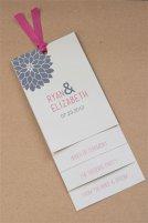 Dahlia wedding invitation - www.etsy.com/shop/AdorePaperDesign