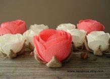 Handmade roses - www.etsy.com/shop/VENDecor