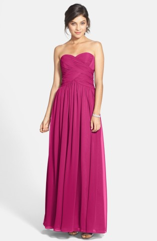 JS Boutique fuchsia bridesmaid dress - from nordstrom.com