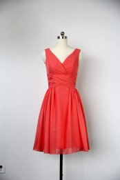 Red bridesmaid dress - www.etsy.com/shop/harsuccthing