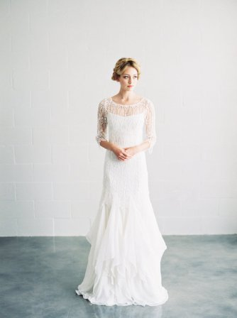'Sofia' wedding gown - www.etsy.com/shop/SaintIsabel
