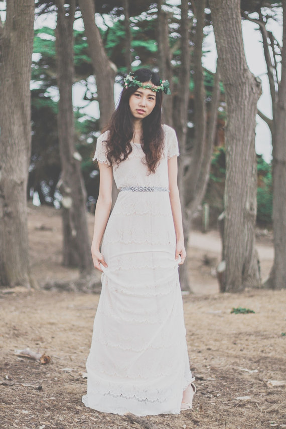 Wedding dress the merry bride for Best etsy wedding dress shops