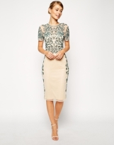 Asos baroque embellished dress, from asos.com