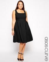 Asos Curve midi dress, from asos.com
