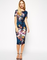 Asos floral print dress, from asos.com