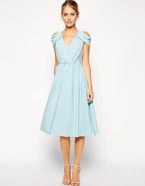 Wedding guest dress ideas the merry bride for Baby blue wedding guest dress