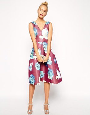 Asos premium midi dress, from asos.com
