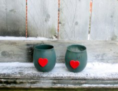 Christmas votive candle-holders - www.etsy.com/shop/CarolesWeddingWhimsy