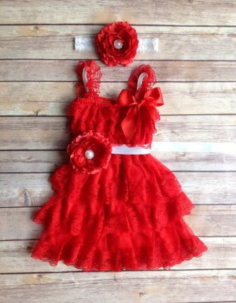 Christmas wedding flower girl dress - www.etsy.com/shop/AvaMadisonBoutique