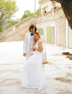 Cotton wedding dress (US$380) - www.etsy.com/shop/porshesplace