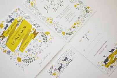Wedding Invitations On Etsy Com The Merry Bride