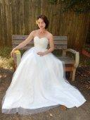 Tulle wedding dress (US$350) - www.etsy.com/shop/nikgrr12