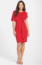 Adrianna Papell cape sheath dress, from nordstrom.com