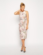 ASOS Blossom Print Crop Top Dress, from asos.com