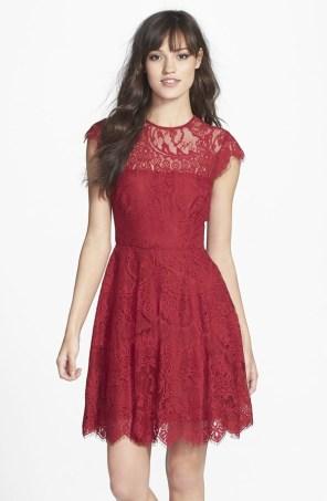 BB Dakota 'Rhianna' Illusion Yoke Lace Dress, from nordstrom.com