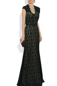 Black lace mother-of-the-bride dress - www.etsy.com/shop/QPIDSHOWGIRL